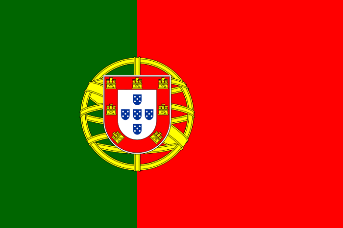 NIDOE PORTUGAL - The Flag of PORTUGAL