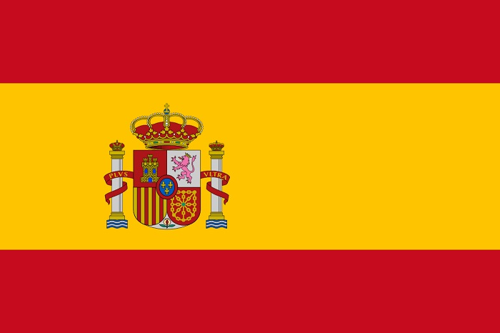 NIDOE SPAIN - The Flag of Spain