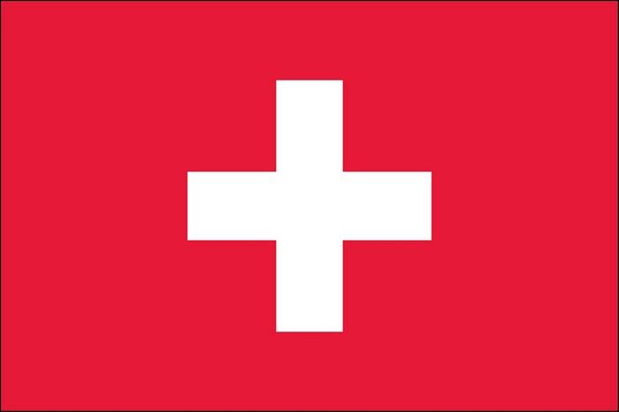 NIDOE Switzerland - The Flag of Switzerland